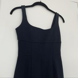 DVF Navy Fitted Dress